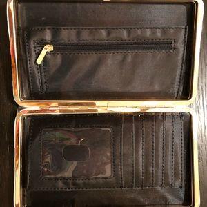 Bags - SOLD-Geometric Clutch w/ Wallet